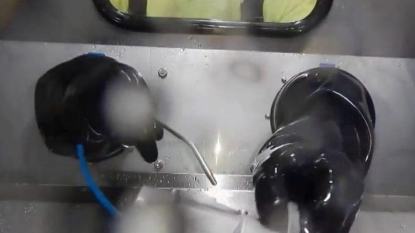 Máquina de lavar peças Top High Pressure