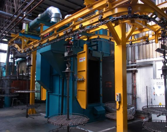 Granalhadora de Turbina